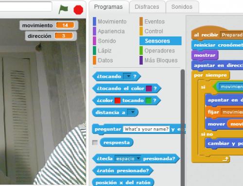 Interacciona con vídeo en tus juegos Scratch