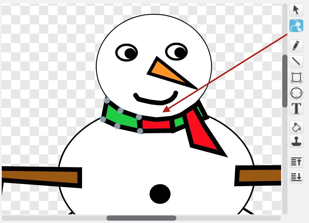 Muñeco De Nieve Dibujo: Hour Of Code (I): Felicitación De Navidad Con Scratch