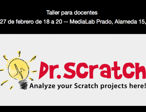 Taller gratuito para docentes sobre Dr. Scratch