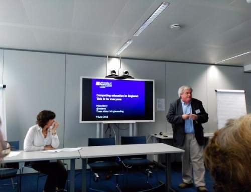 """Crónica """"Encuentro Europeo acerca de políticas sobre programación informática"""""""