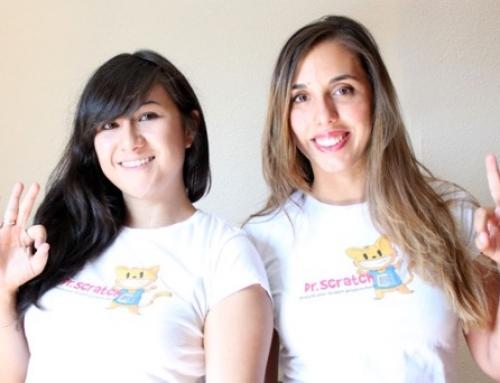 """Eva Hu y Mari Luz Aguado: """"Algunos se sorprenden de que un niño pueda aprender a programar, piensan que son cosas de mayores"""""""