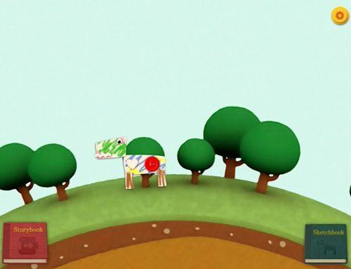 Imagina, dibuja y programa historias en tu tablet con Codeable Crafts