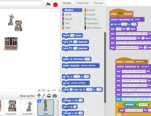 Juega, interacciona y aprende con Scratch.