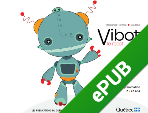 Vibot the robot, un cuento sobre programación y robótica