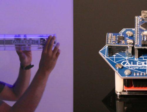 CALEIDUINO, un caleidoscopio electrónico para aprender programación