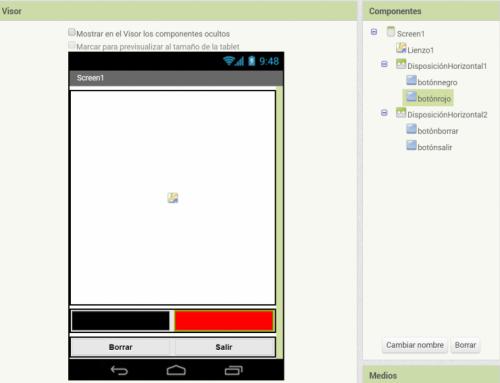 Crea una aplicación de dibujo para tu móvil con App Inventor