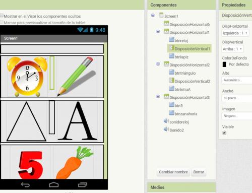 Crea una app para tu aula: reconociendo objetos con App Inventor.