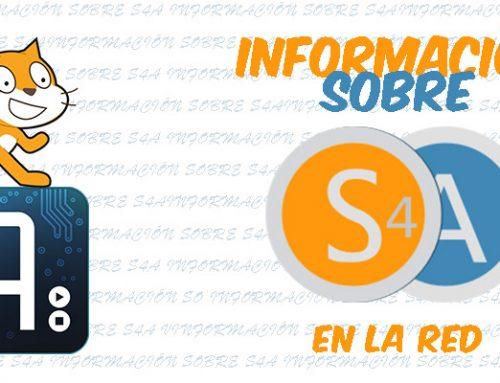 Información sobre S4A en la red