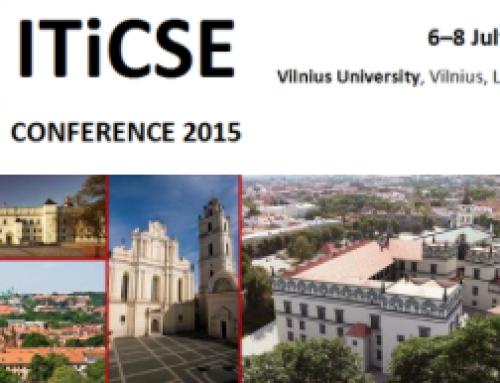 Convocatoria para docentes de secundaria: ITiCSE 2015