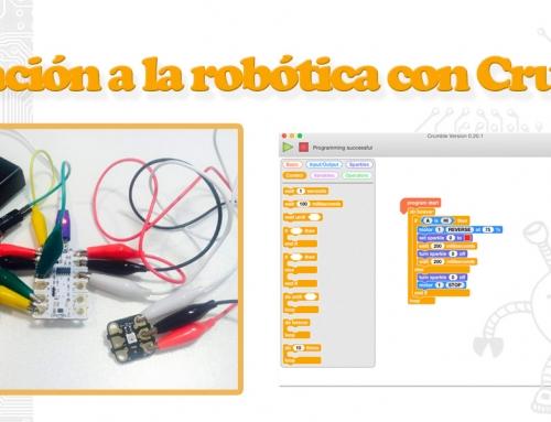 Crumble, un dispositivo muy interesante para iniciarse en la robótica
