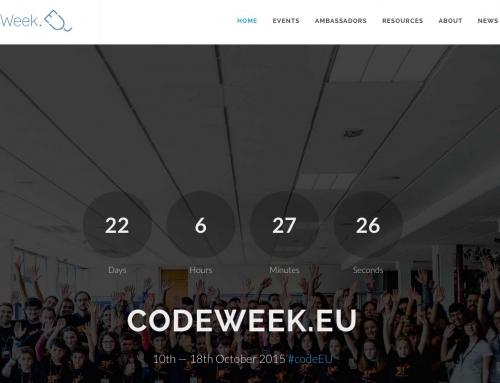 Presentamos la web Codeweek.eu