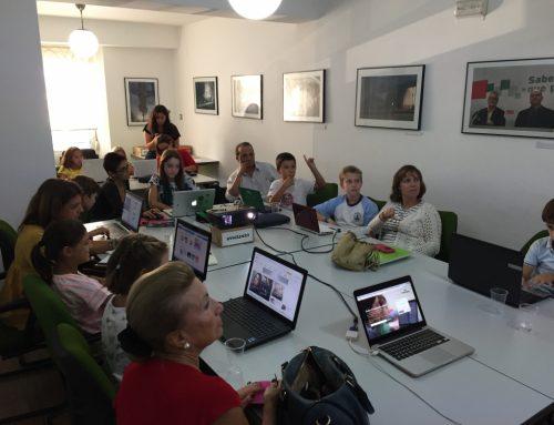 Taller en la Asociación de la Prensa de Sevilla