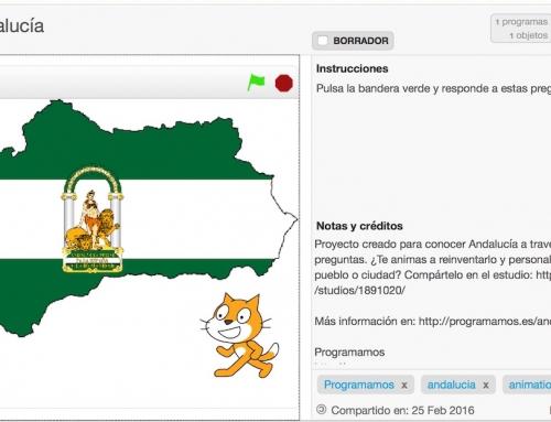 Celebra el día de Andalucía con Scratch