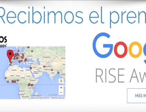 Google reconoce con el RISE Award 2016 a Programamos
