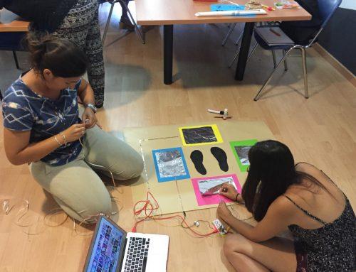 """Crónica del curso de verano """"Programación y robótica en infantil y primaria"""". Días 3, 4 y 5"""