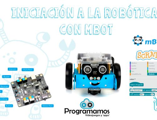 Mbot, un robot para iniciarse en la robótica educativa
