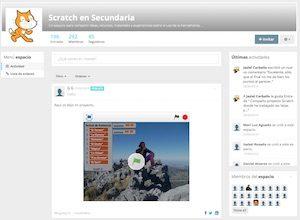 Espacio Scratch Secundaria