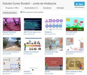 Estudio curso Scratch Andalucía
