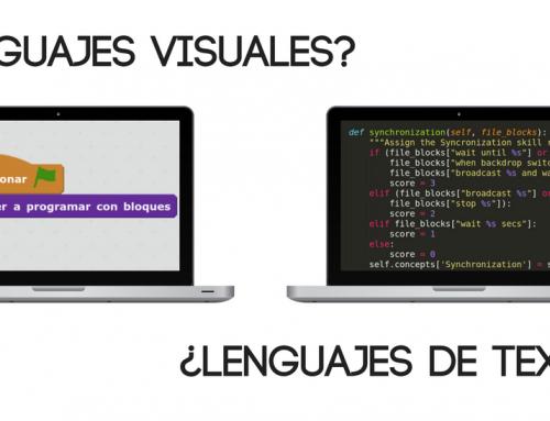 ¿Lenguajes de programación visuales o lenguajes basados en texto?
