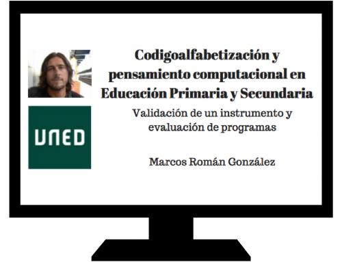 Primera Tesis Doctoral en España sobre Pensamiento Computacional