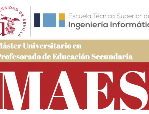 Participamos en el Máster para profesorado de secundaria y FP de la Universidad de Sevilla