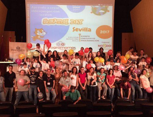 Así lo pasamos en el Scratch Day Sevilla 17