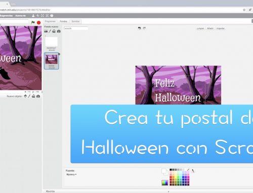 Crea una postal de Halloween con Scratch