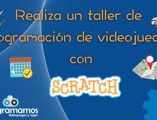 Realiza un taller de programación de videojuegos con Scratch