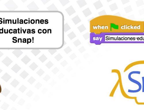 Nuevo curso gratuito de programación con Snap! para profesorado de Andalucía