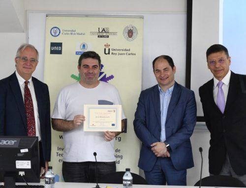 Jesús Moreno León recibe el premio eMadrid a la mejor tesis doctoral