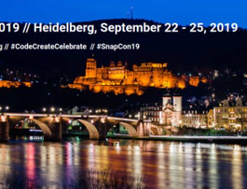Este mes de septiembre se celebra la Snap! Conference 2019