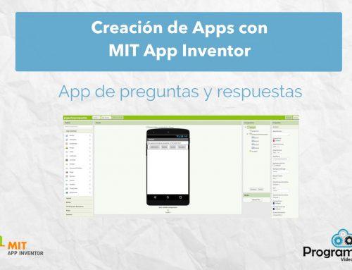 Crea una App de preguntas y respuestas con MIT App Inventor