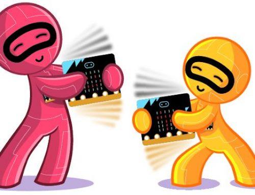 Juego de velocidad de reacción con placas micro:bit… ¡por radio!