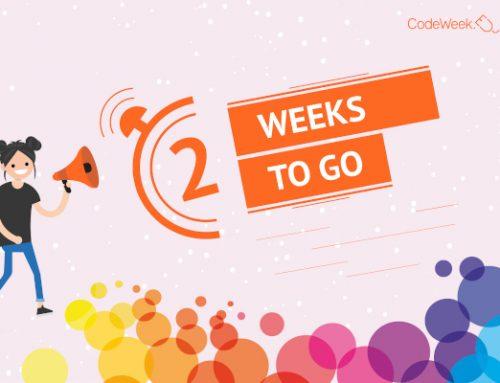 ¡CodeWeek 2020 comienza en dos semanas!