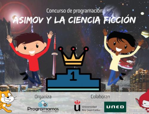 Premios del concurso de programación «Asimov y la ciencia ficción»
