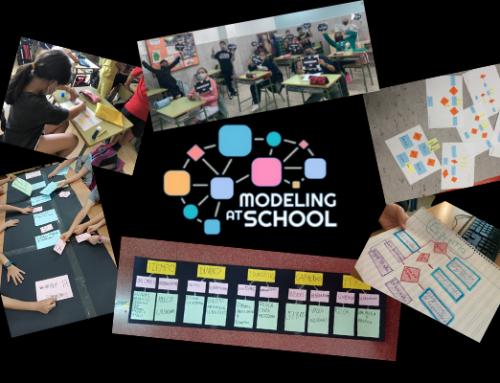 Materiales libres sobre diagramas del proyecto «Modelar en la escuela» y encuentro virtual en septiembre